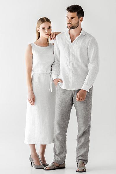 Spodnie lniane, najlepszy wybór na lato.