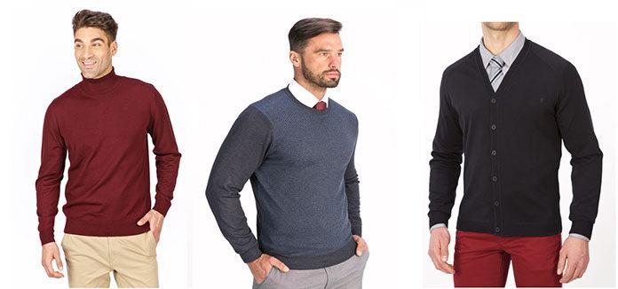 Modne swetry męskie 2020